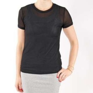 Versatile Mesh Top in M (Size 6-8) and L (10-12)